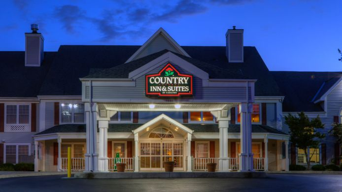 Exterior view COUNTRY INN AND SUITES ROANOKE