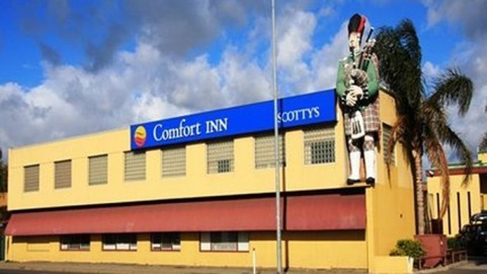 Exterior view Comfort Inn Scotty's