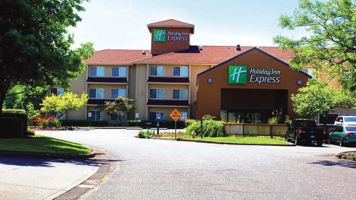 Exterior view Holiday Inn Express PORTLAND EAST - TROUTDALE