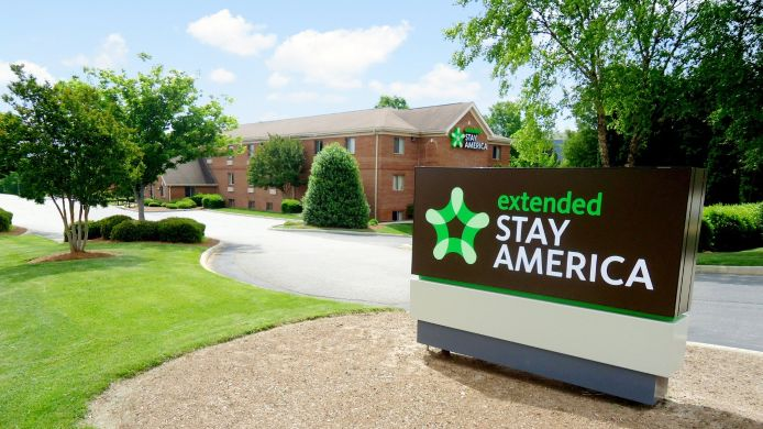 Buitenaanzicht EXTENDED STAY AMERICA WENDOVER