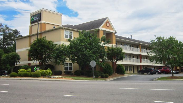 Exterior view EXTENDED STAY AMERICA FAYETTEV