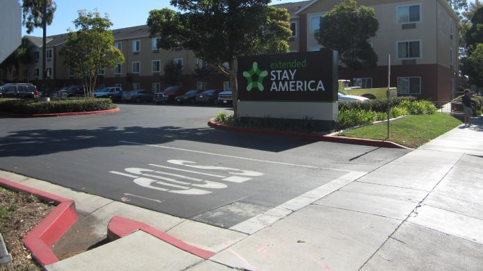 Exterior view EXTENDED STAY AMERICA GARDENA