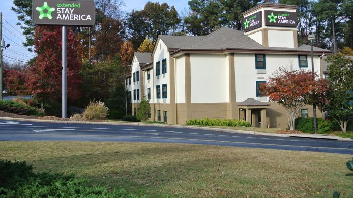 Buitenaanzicht EXTENDED STAY AMERICA CLAIRMON