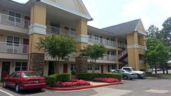 Exterior view EXTENDED STAY AMERICA SYCAMORE