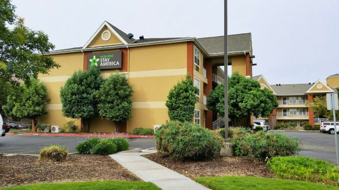 Exterior view EXTENDED STAY AMERICA FRESNO N