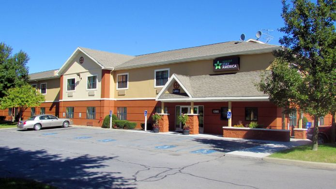 Buitenaanzicht EXTENDED STAY AMERICA ALBANY S