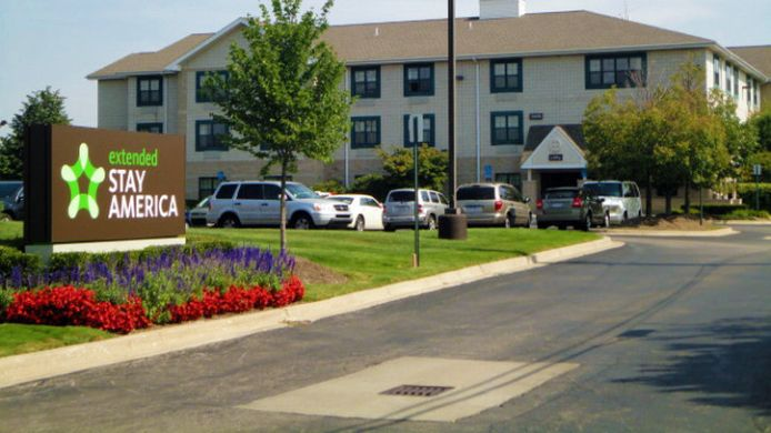 Buitenaanzicht EXTENDED STAY AMERICA MADISON
