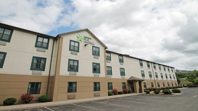 Buitenaanzicht EXTENDED STAY AMERICA AMHERST