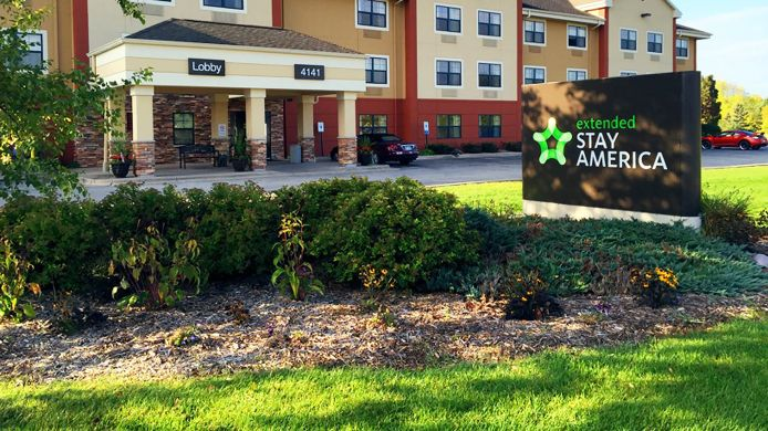 Exterior view EXTENDED STAY AMERICA APPLETON