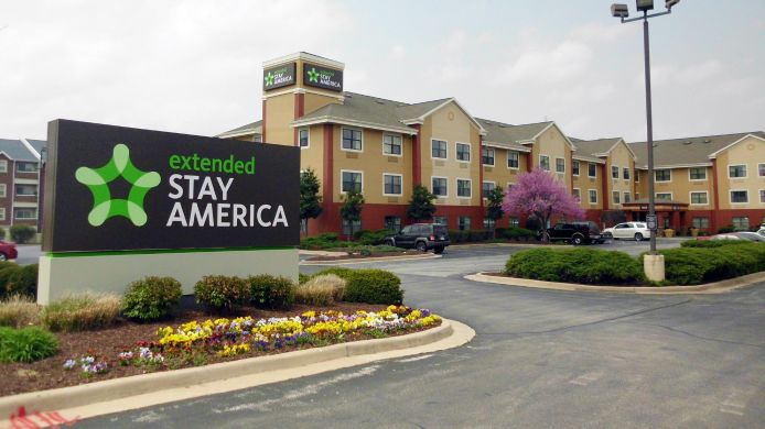 Exterior view EXTENDED STAY AMERICA SPRINGFI