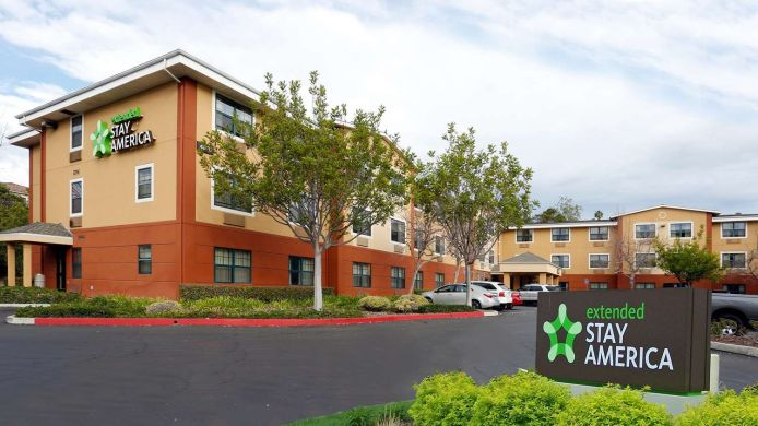 Exterior view EXTENDED STAY AMERICA SANTA BA