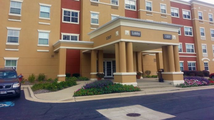 Buitenaanzicht EXTENDED STAY AMERICA OHARE