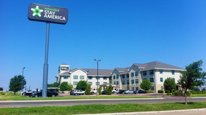 Buitenaanzicht EXTENDED STAY AMERICA AMARILLO