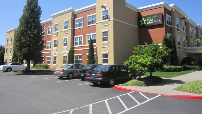 Exterior view EXTENDED STAY AMERICA EVERETT