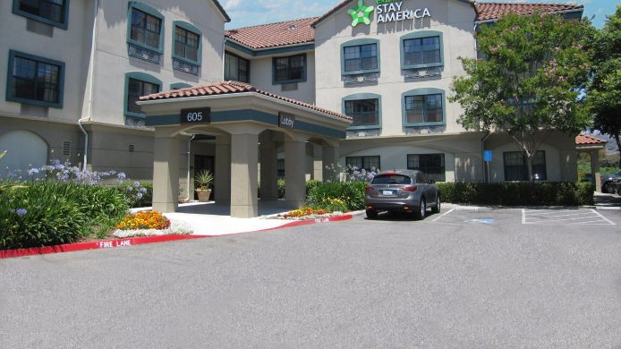 Buitenaanzicht EXTENDED STAY AMERICA MORGAN H