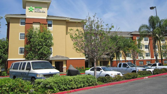 Exterior view EXTENDED STAY AMERICA ORANGE C