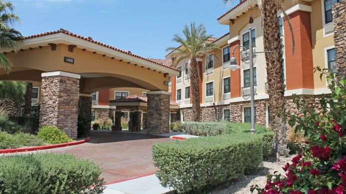 Buitenaanzicht EXTENDED STAY AMERICA PALM SPR