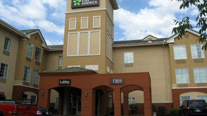 Exterior view EXTENDED STAY AMERICA CONV CTR