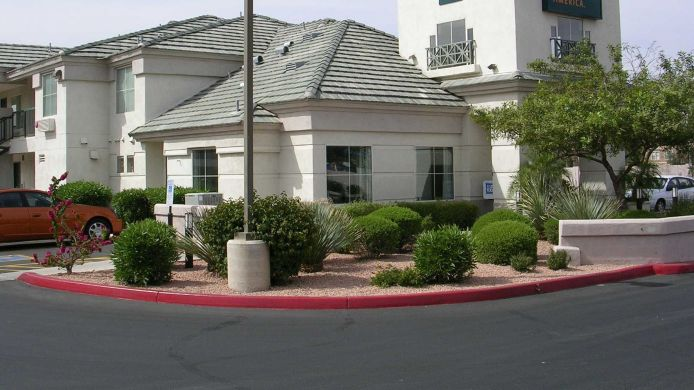 Exterior view EXTENDED STAY AMERICA E CHANDL