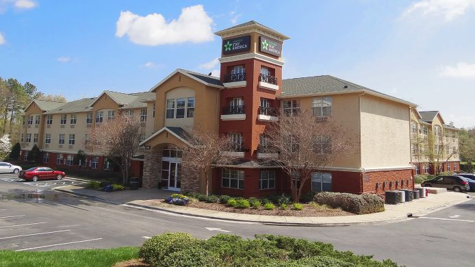 Buitenaanzicht EXTENDED STAY AMERICA RTP 4919