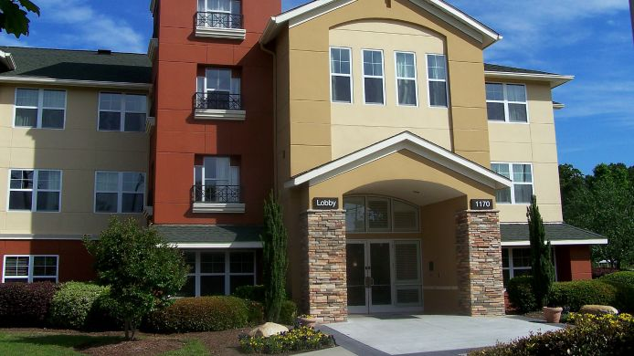 Exterior view EXTENDED STAY AMERICA NW COLUM