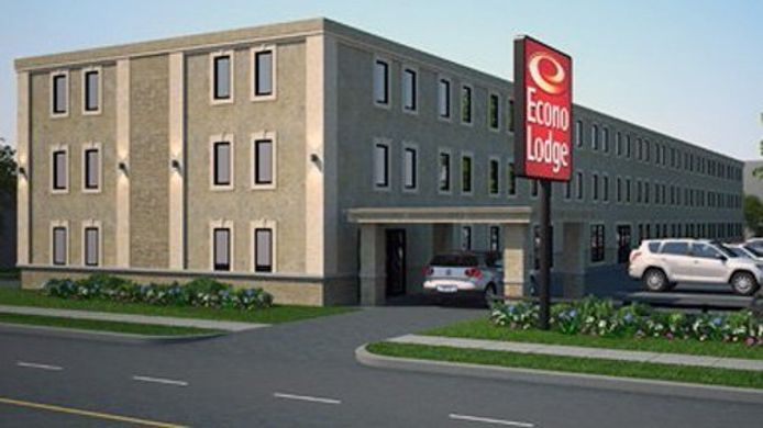 Exterior view Econo Lodge London