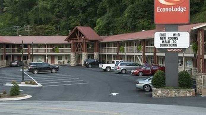Exterior view Econo Lodge Cherokee