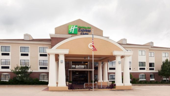 Buitenaanzicht Holiday Inn Express & Suites ELGIN