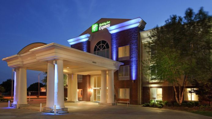 Exterior view Holiday Inn Express FORT SMITH EXECUTIVE PARK