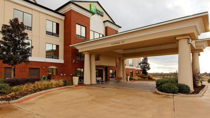 Buitenaanzicht Holiday Inn Express CROCKETT