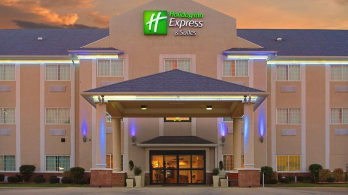 Buitenaanzicht Holiday Inn Express & Suites MAGNOLIA-LAKE COLUMBIA