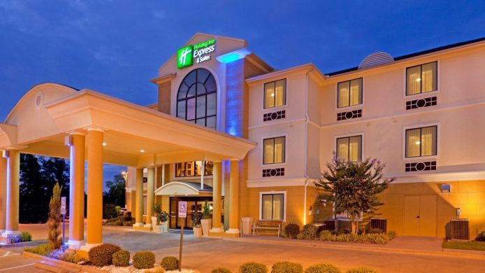 Exterior view Holiday Inn Express & Suites MOUNT PLEASANT