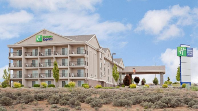 Buitenaanzicht Holiday Inn Express & Suites RICHLAND