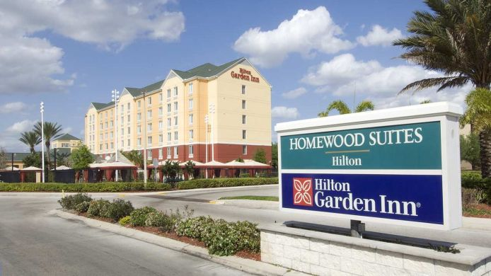 Exterior view Hilton Garden Inn Orlando International Drive North