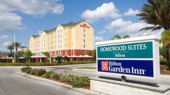 Außenansicht Hilton Garden Inn Orlando International Drive North