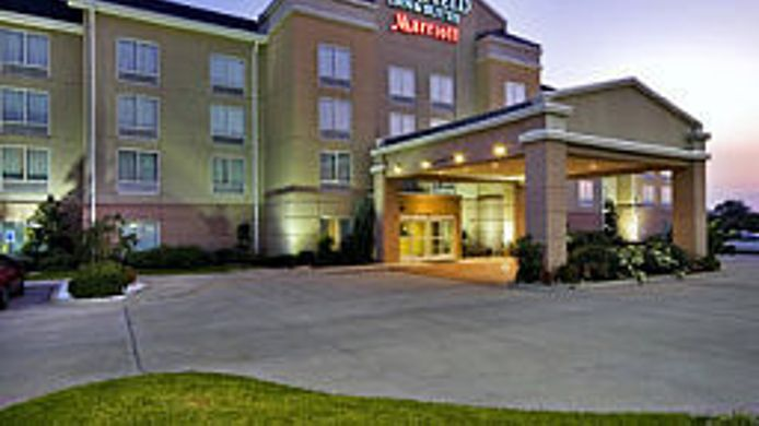 Exterior view Fairfield Inn & Suites Marshall