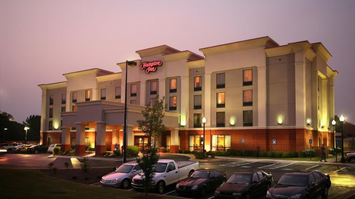 Exterior view Hampton Inn Carrollton