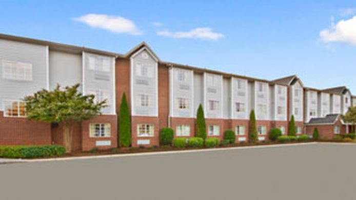 Exterior view MICROTEL INN & SUITES GREENVIL