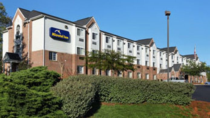Exterior view MICROTEL INN CHARLOTTE-UNIVERSITY PLACE