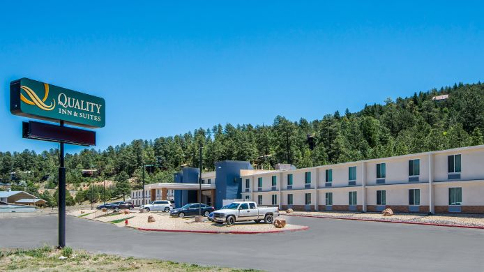 Exterior view Quality Inn & Suites Ruidoso