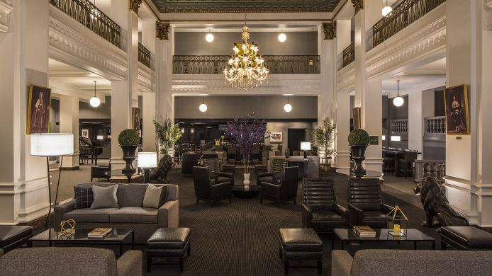 Lobby LORD BALTIMORE HOTEL