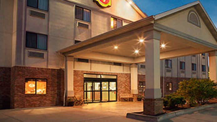 Exterior view SUPER 8 PERRYVILLE