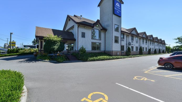 Exterior view Canadas Best Value Inn - Langley / Vancouver