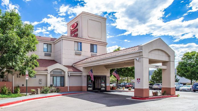 Buitenaanzicht Econo Lodge Denver International Airport