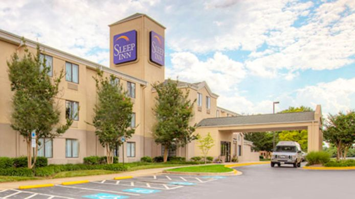 Buitenaanzicht Sleep Inn Rockville
