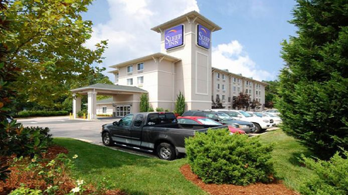 Exterior view Sleep Inn Raleigh Durham Airport