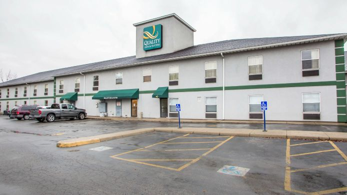 Buitenaanzicht Quality Inn & Suites South/Obetz