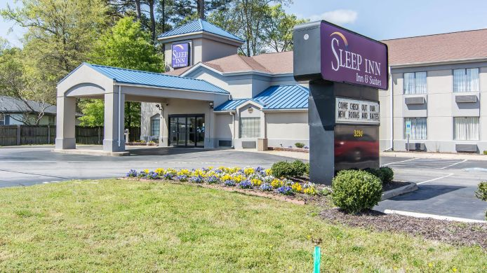 Exterior view Sleep Inn & Suites Chesapeake - Portsmouth