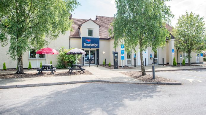 Buitenaanzicht TRAVELODGE MANCHESTER SPORTCITY