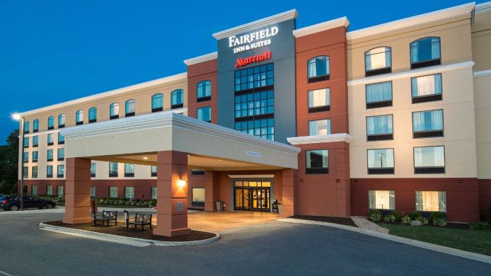Exterior view Fairfield Inn & Suites Lynchburg Liberty University